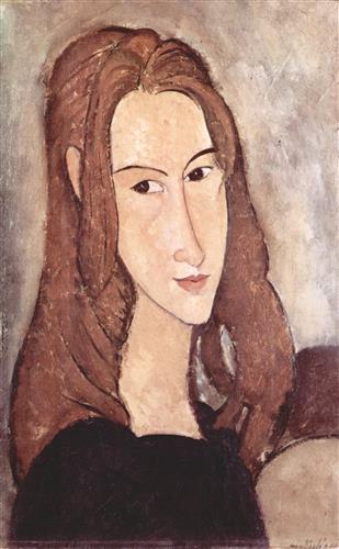 Постер на подрамнике Портрет Жанны Эбютерн