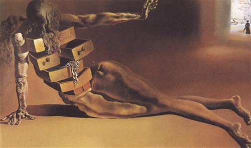 Постер на подрамнике The Anthropomorphic Chest of Drawers