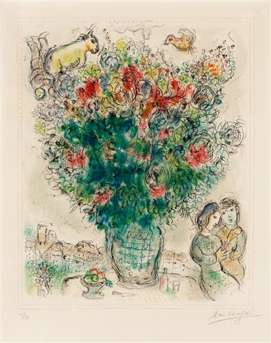 Плакат Bouquet multicolore