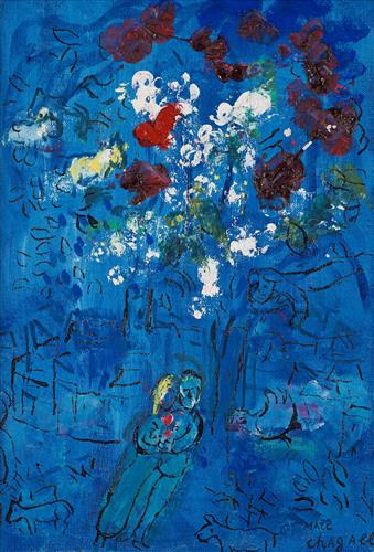 Плакат Le Bouquet au-dessus de Vence