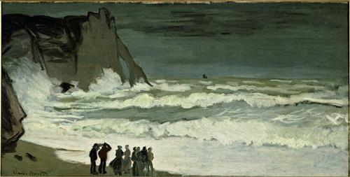 Постер на подрамнике Grosse Mer a Etretat