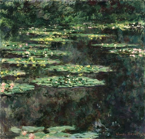 Постер на подрамнике Water Lilies