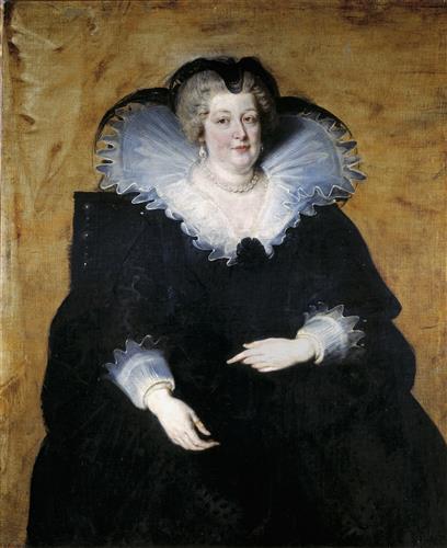 Постер на подрамнике Marie de Medici, Queen of France