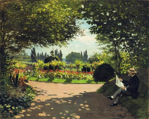 Постер на подрамнике Сад