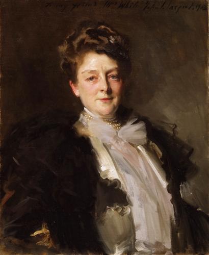 Плакат Portrait of Mrs. J. William White