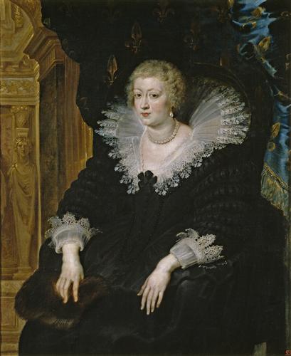 Плакат Ana de Austria, reina de Francia