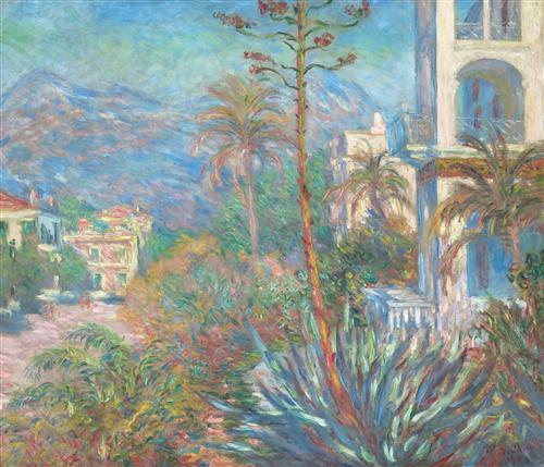 Постер на подрамнике Villas at Bordighera