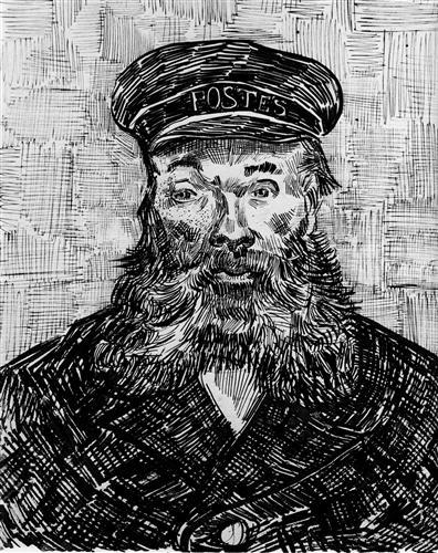 Постер на подрамнике Portrait of the Postman Joseph Roulin