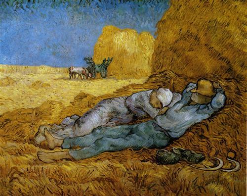 Постер на подрамнике The siesta