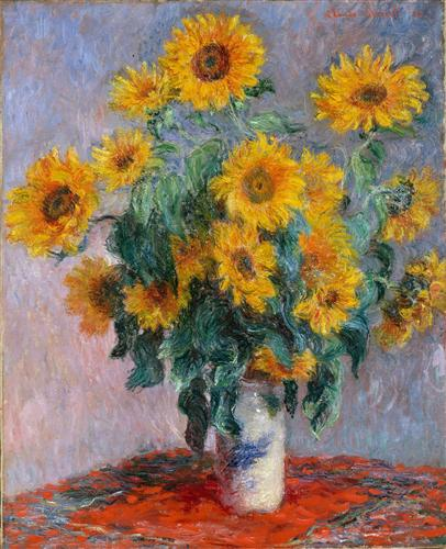 Постер на подрамнике Bouquet of sunflowers