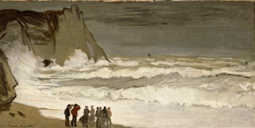 Постер на подрамнике у моря