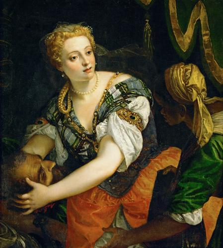 Плакат Judith with the Head of Holofernes