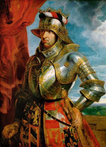 Плакат Максимилиан I, император священной римской республики