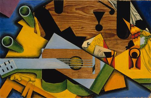 Плакат Still Life with a Guitar
