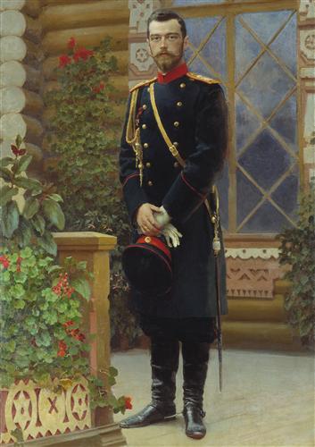 Плакат Портрет императора Николая II
