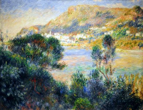Постер на подрамнике View From Cap Martin of Monte Carlo