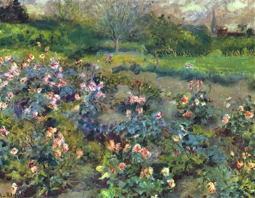 Постер на подрамнике The Garden of Roses