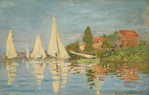 Постер на подрамнике Regatta at Argenteuil