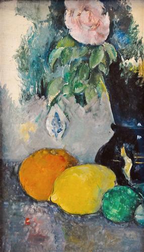 Постер на подрамнике Flowers and Fruit