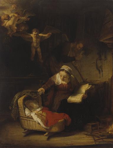 Плакат Святое семейство