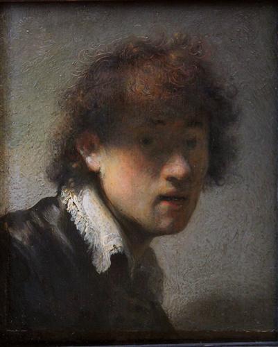Постер на подрамнике Self-portrait at early age