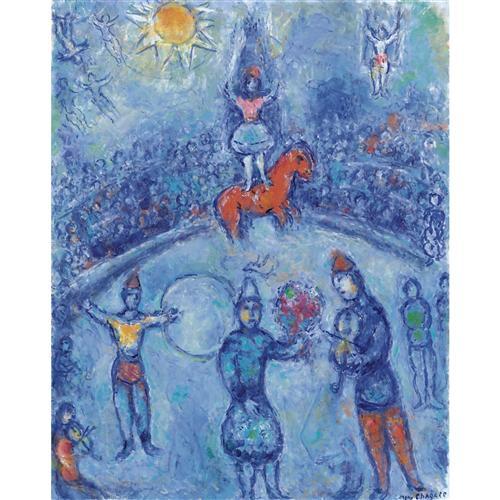 Постер на подрамнике Le Cirque