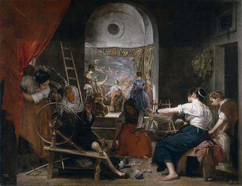 Плакат The Fable of Arachne or The Tapestry Weavers