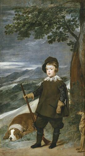 Плакат Prince Baltasar Carlos as a Hunter