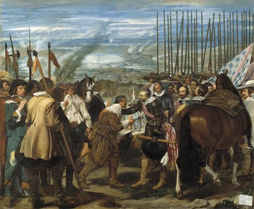 Плакат The Surrender of Breda or The Lances