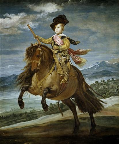Плакат Prince Baltasar Carlos on Horseback