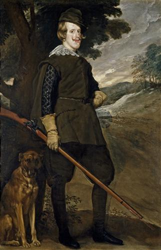 Плакат Felipe IV in Hunting Garb