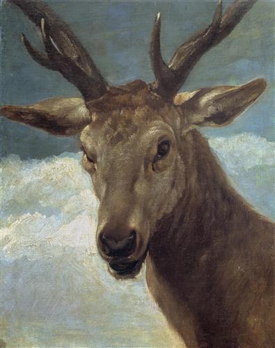 Плакат Head of a Buck