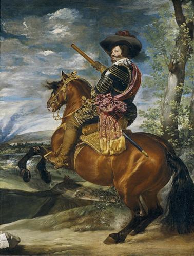 Плакат Gaspar de Guzman Count-Duke of Olivares