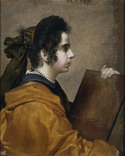 Постер на подрамнике Juana Pacheco Wife of the Artist