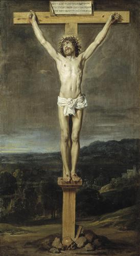 Постер на подрамнике Christ on the Cross