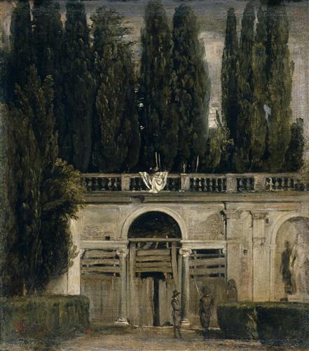 Плакат The Medici Gardens in Rome