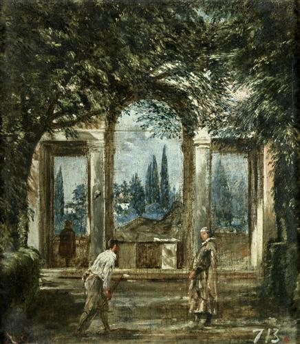 Постер на подрамнике The Medici Gardens in Rome