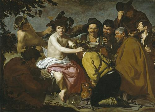 Плакат The Triumph of Bacchus or the Drinkers