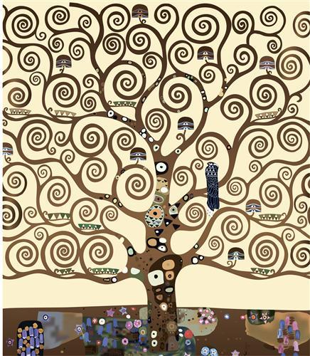 Постер на подрамнике The tree of life