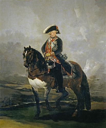Постер на подрамнике Carlos IV on Horseback