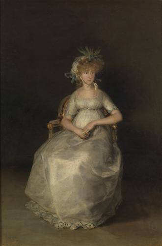 Постер на подрамнике The Countess of Chinchon