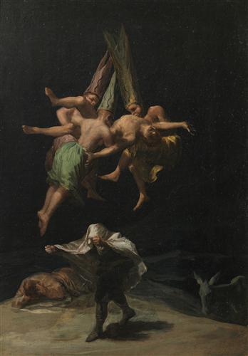 Постер на подрамнике The Witches Flinght