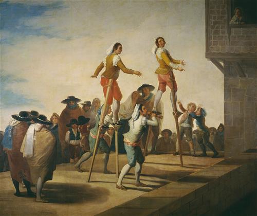 Постер на подрамнике Stilts