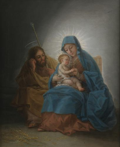 Постер на подрамнике The Holy Family