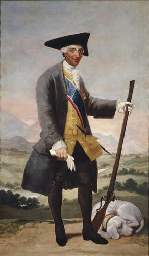 Постер на подрамнике Carlos III in Hunting Costume