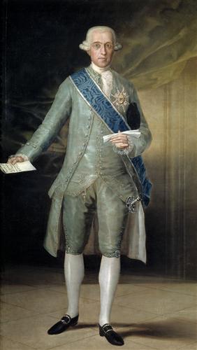 Постер на подрамнике Jose Monino Count of Floridablanca