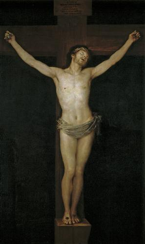 Постер на подрамнике Christ Crucified