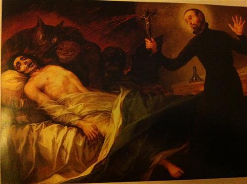 Постер на подрамнике Святой Франциск