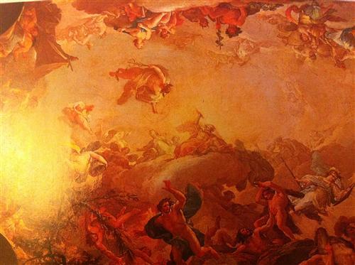 Постер на подрамнике Падение Титанов