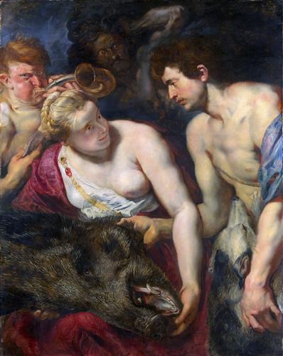 Постер на подрамнике Аталанта и Мелеагра